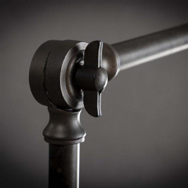 Vloerlamp knik verstelbaar / Charcoal. 7984/76 uit de vloerlampen collectie van Zijlstrakleinmeubelen & verlichting bij Löwik Meubelen