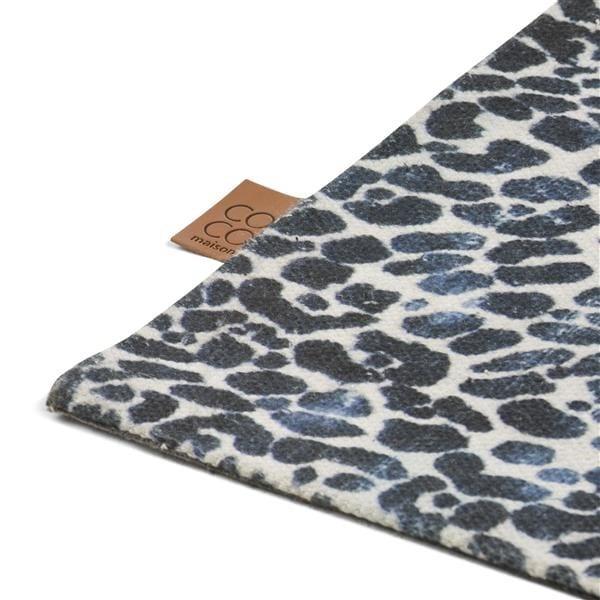 karpet Leopard - 90 x 150 cm - 100% polyester Coco Maison CARPET Lowik Wonen & Slapen