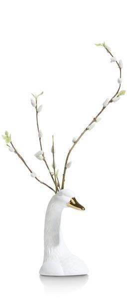 vaas Swan - hoogte 19,5 cm Coco Maison ACCESOIRES Lowik Wonen & Slapen