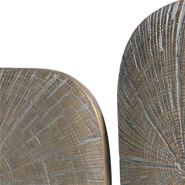 wanddeco Lena - set van 3 - goud Coco Maison WALLDECO Lowik Wonen & Slapen