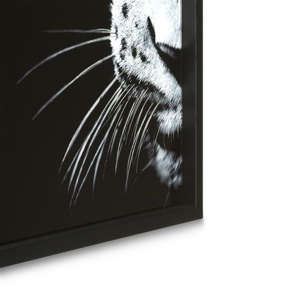 wanddecoratie Cheetah - 70 x 100 cm - print op glas Coco Maison PAINTING Lowik Wonen & Slapen