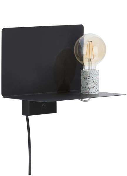 Omer, wandlamp & plank 1-lamp Coco Maison LIGHTING Lowik Wonen & Slapen