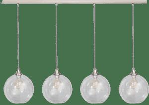 Calvello hanglamp balk 25cm 4x E27 helder - ETH verlichting - 05-HL4411-60