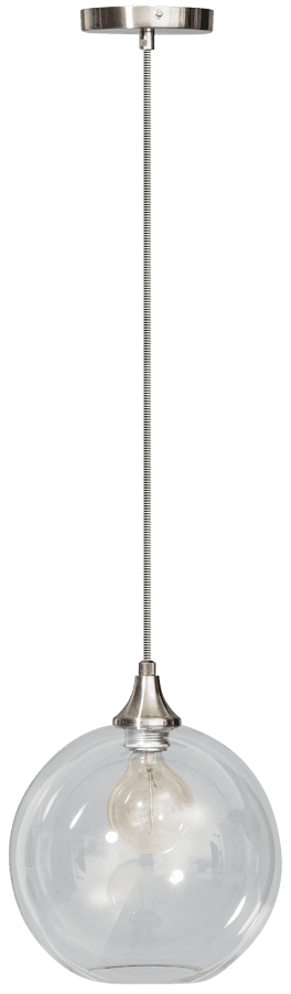 Calvello hanglamp 30cm 1x E27 helder - ETH verlichting - 05-HL4409-60