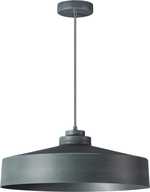 Grey hanglamp 1x E27 grijs - ETH verlichting - 05-HL4442-99