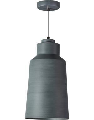 Grey hanglamp 1x E27 grijs - ETH verlichting - 05-HL4440-99