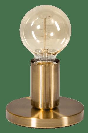 Base tafellamp 1x E27 vintage goud - ETH verlichting - 05-TL3243-02