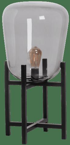 Benn Original MINI tafellamp 1x E27 zwart / gun metal glas - ETH verlichting - 05-TL3286-30