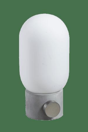 Minion tafellamp 1x E27 beton / opaal glas - ETH verlichting - 05-TL3333-99