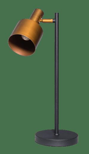 Sledge tafellamp 1x E27 zwart/vintage gold - ETH verlichting - 05-TL3277-0530