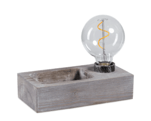 Tray tafellamp 1 x E27 hout - ETH verlichting - 05-TL3323-77