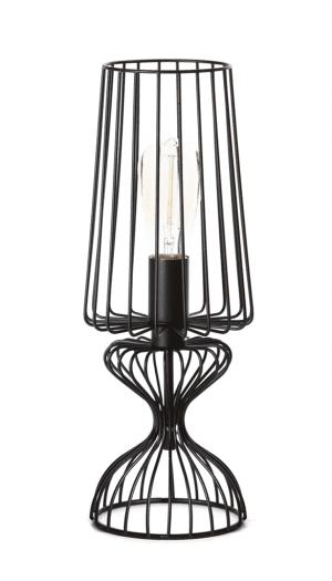 Wire tafellamp 1x E27 zwart - ETH verlichting - 05-TL3302-30