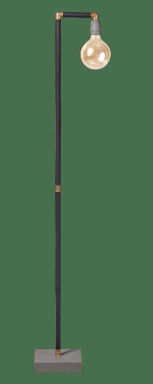 GassedUp vloerlamp 1x E27 mat zwart - ETH verlichting - 05-VL8171-30