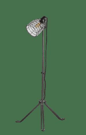 Honey vloerlamp 1 x E27 helder glas dia.21cm max hoog 170cm - ETH verlichting - 05-VL8294-30