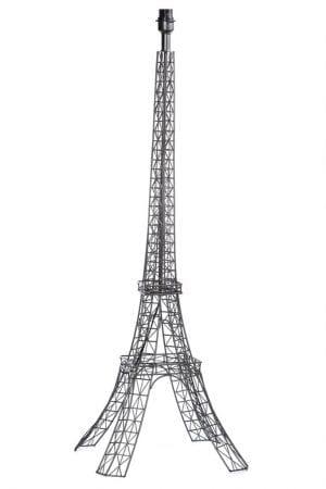 Paris vloerlamp 1x E27 zwart chroom - ETH verlichting - 05-VL8197-30