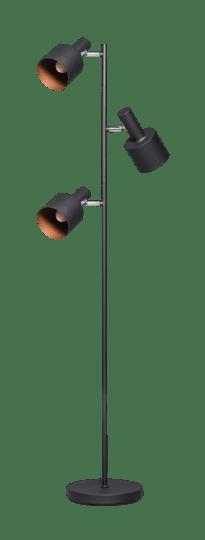 Sledge vloerlamp 3 x E27 zwart - ETH verlichting - 05-VL8320-30