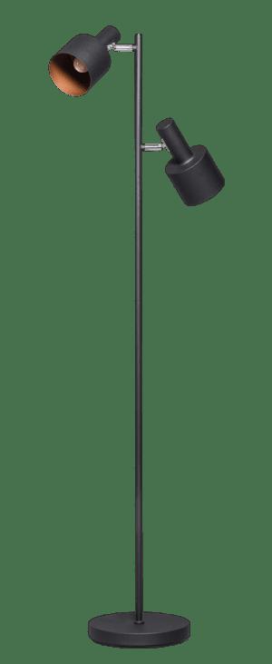 Sledge vloerlamp 2x E27 zwart - ETH verlichting - 05-VL8377-30