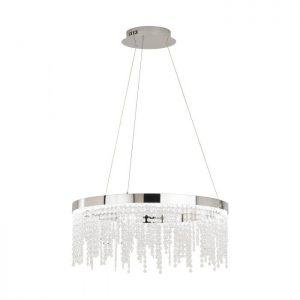 Antelao hanglamp uit de lampen collectie van Eglo, schitterende lamp vervaardigd van staal, chroom van kleur en passend bij vele interieurstijlen. De hanglamp is voorzien van een LED fitting. Hanglamp Antelao wordt geleverd inclusief lichtbron(nen).