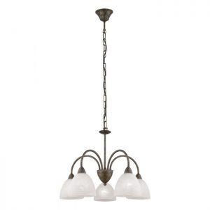 Dionis hanglamp uit de lampen collectie van Eglo, schitterende lamp vervaardigd van staal, roestkleuren van kleur en passend bij vele interieurstijlen. De hanglamp is voorzien van een E14 fitting. Hanglamp Dionis wordt geleverd exclusief lichtbron(nen).