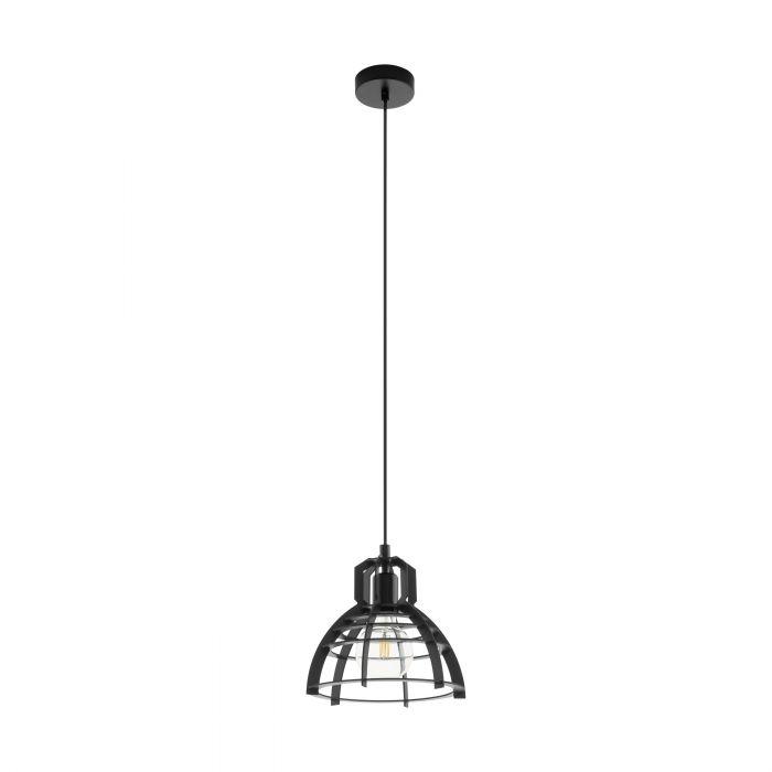 Ipswich hanglamp - zwart