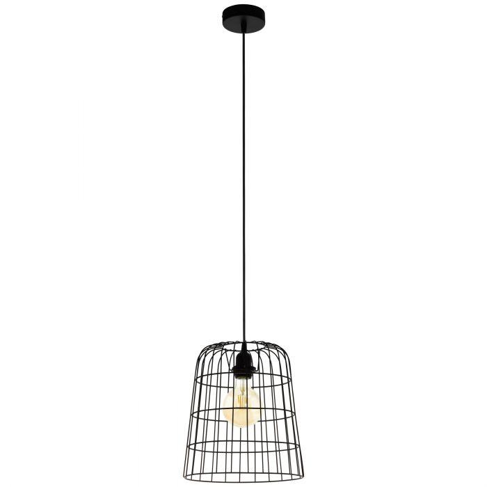 Longburgh hanglamp - zwart