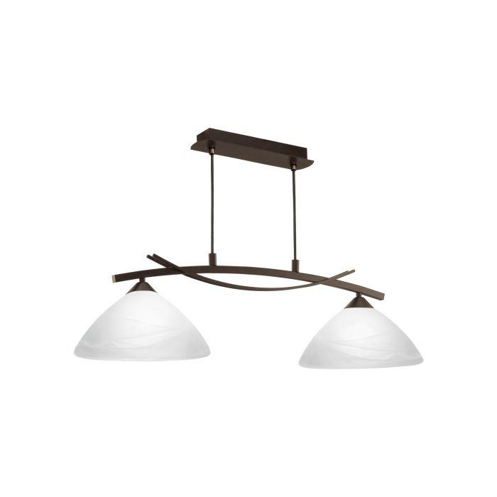 Vinovo hanglamp - donkerbruin
