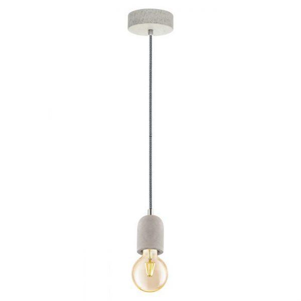Yorth hanglamp uit de hanglampen collectie van Eglo, verlichting voor een sfeervol thuis! Schitterende lamp vervaardigd uit metaal, grijs van kleur en passend bij vele interieurstijlen. De hanglamp is voorzien van een E27 fitting. Hanglamp Yorth wordt geleverd exclusief lichtbron(nen).