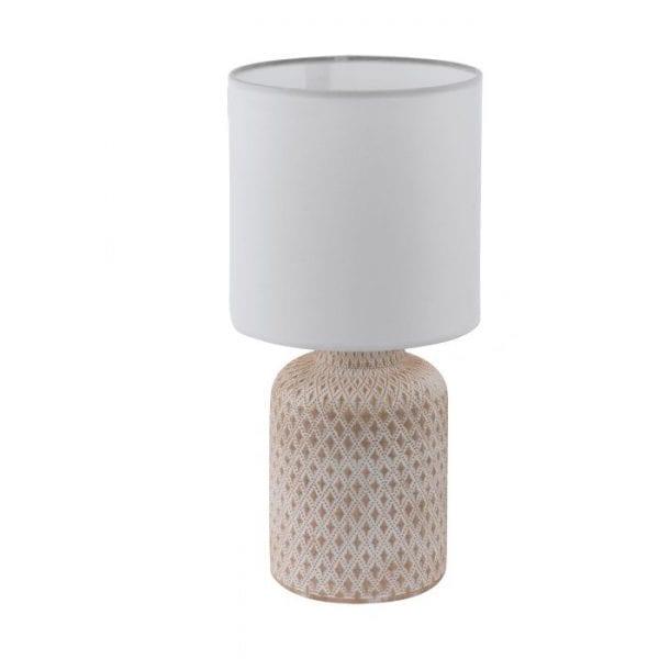 Bellariva Tafellampen uit de lampen collectie van Eglo, schitterende lamp vervaardigd van Ceramiek, crème-wit van kleur en passend bij vele interieurstijlen. De Tafellampen is voorzien van een E14 fitting. Tafellampen Bellariva wordt geleverd exclusief lichtbron(nen).
