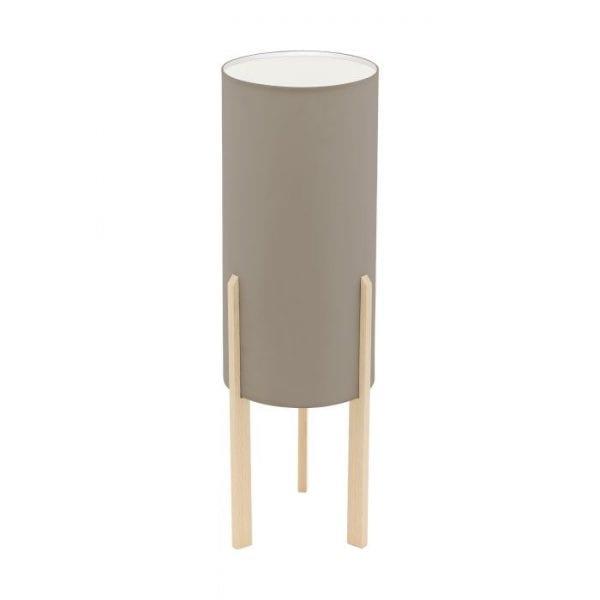 Campodino Tafellampen uit de lampen collectie van Eglo, schitterende lamp vervaardigd van Hout, ahorn van kleur en passend bij vele interieurstijlen. De Tafellampen is voorzien van een E27 fitting. Tafellampen Campodino wordt geleverd exclusief lichtbron(nen).