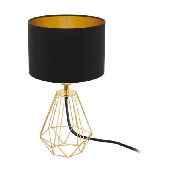 Carlton 2 Tafellampen uit de lampen collectie van Eglo, schitterende lamp vervaardigd van staal, geelkoper van kleur en passend bij vele interieurstijlen. De Tafellampen is voorzien van een E14 fitting. Tafellampen Carlton 2 wordt geleverd exclusief lichtbron(nen).