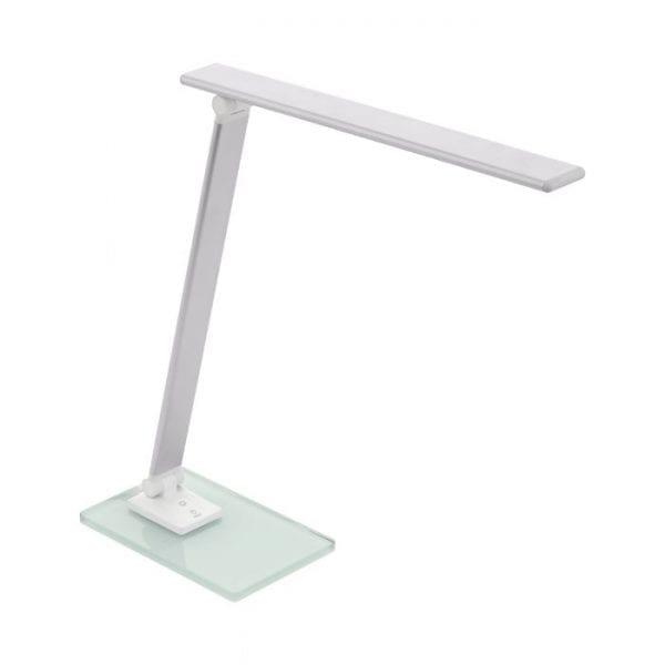 Conversana Tafellampen uit de lampen collectie van Eglo, schitterende lamp vervaardigd van Kunststof, zilver van kleur en passend bij vele interieurstijlen. De Tafellampen is voorzien van een LED fitting. Tafellampen Conversana wordt geleverd inclusief lichtbron(nen).