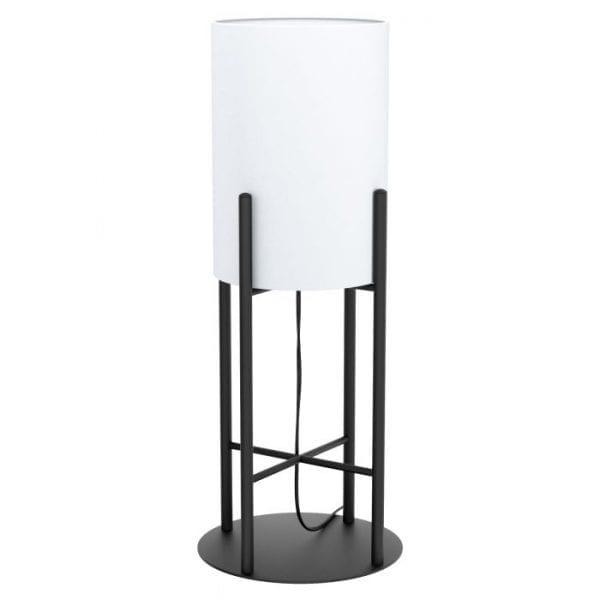 Glastonbury tafellamp uit de tafellampen collectie van Eglo, verlichting voor een sfeervol thuis! Schitterende lamp vervaardigd uit metaal, zwart van kleur en passend bij vele interieurstijlen. De tafellamp is voorzien van een E27 fitting. Tafellamp Glastonbury wordt geleverd exclusief lichtbron(nen).