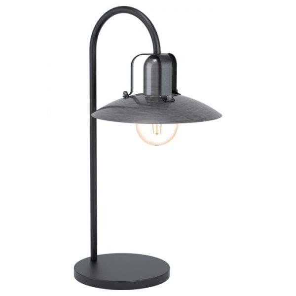 Kenilworth Tafellampen uit de lampen collectie van Eglo, schitterende lamp vervaardigd van staal, zwart van kleur en passend bij vele interieurstijlen. De Tafellampen is voorzien van een E27 fitting. Tafellampen Kenilworth wordt geleverd exclusief lichtbron(nen).