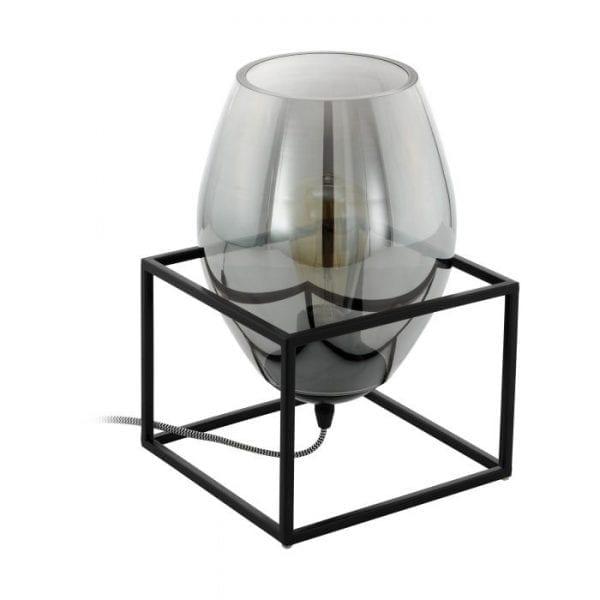 Olival 1 Tafellampen uit de lampen collectie van Eglo, schitterende lamp vervaardigd van staal, zwart van kleur en passend bij vele interieurstijlen. De Tafellampen is voorzien van een E27 fitting. Tafellampen Olival 1 wordt geleverd exclusief lichtbron(nen).