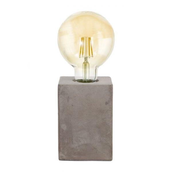 Prestwick Tafellampen uit de lampen collectie van Eglo, schitterende lamp vervaardigd van Ceramiek, grijs van kleur en passend bij vele interieurstijlen. De Tafellampen is voorzien van een E27 fitting. Tafellampen Prestwick wordt geleverd exclusief lichtbron(nen).