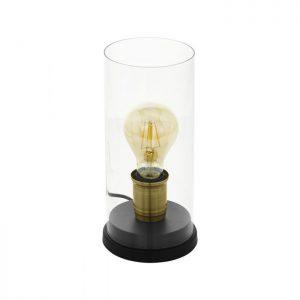Smyrton Tafellampen uit de lampen collectie van Eglo, schitterende lamp vervaardigd van staal, zwart, gebronsd van kleur en passend bij vele interieurstijlen. De Tafellampen is voorzien van een E27 fitting. Tafellampen Smyrton wordt geleverd exclusief lichtbron(nen).