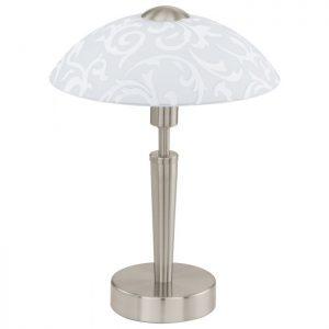 Solo Tafellampen uit de lampen collectie van Eglo, schitterende lamp vervaardigd van staal, nikkel-mat van kleur en passend bij vele interieurstijlen. De Tafellampen is voorzien van een E14-ILLU fitting. Tafellampen Solo wordt geleverd exclusief lichtbron(nen).