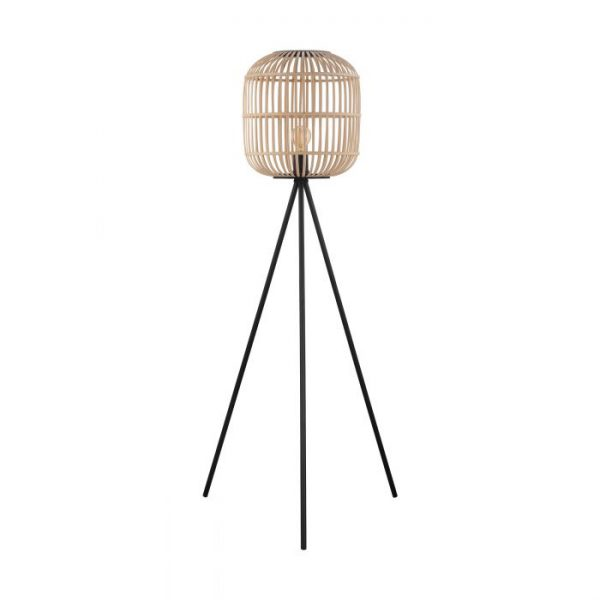 Bordesley Staande lampen uit de lampen collectie van Eglo, schitterende lamp vervaardigd van staal, zwart van kleur en passend bij vele interieurstijlen. De Staande lampen is voorzien van een E27 fitting. Staande lampen Bordesley wordt geleverd exclusief lichtbron(nen).