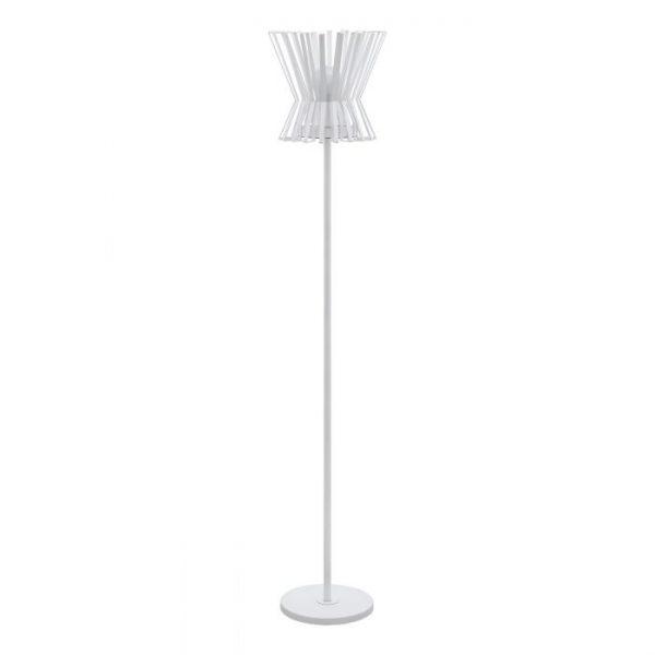Locubin Staande lampen uit de lampen collectie van Eglo, schitterende lamp vervaardigd van staal, wit van kleur en passend bij vele interieurstijlen. De Staande lampen is voorzien van een E27 fitting. Staande lampen Locubin wordt geleverd exclusief lichtbron(nen).