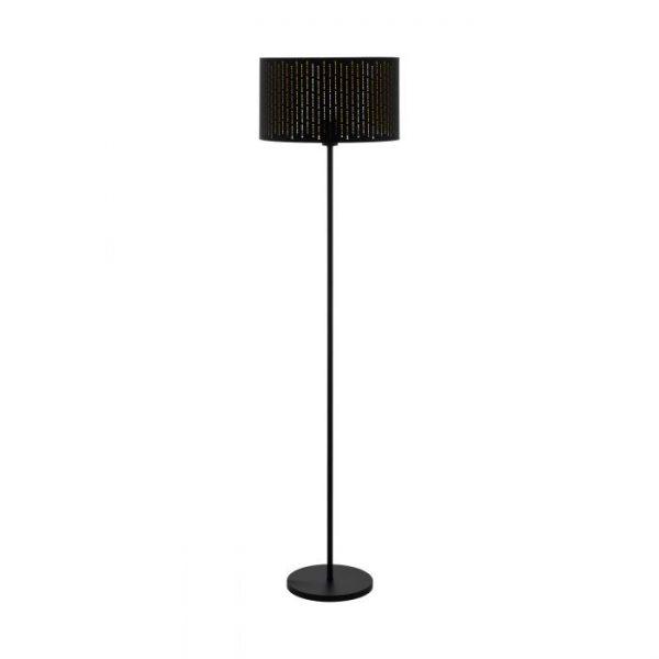 Varillas Staande lampen uit de lampen collectie van Eglo, schitterende lamp vervaardigd van staal, zwart van kleur en passend bij vele interieurstijlen. De Staande lampen is voorzien van een E27 fitting. Staande lampen Varillas wordt geleverd exclusief lichtbron(nen).