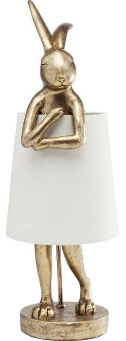 Table Lamp Animal Rabbit Gold 61598  Kare Design