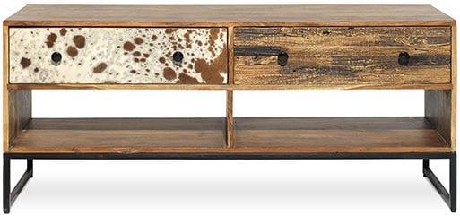 Tucson tv-meubel, retro design met authentieke materialen - Feelings