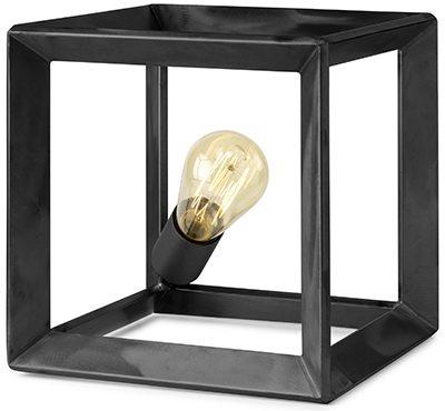 Thor tafellamp metaal grijs  Tafellamp Thor 25x25x25. Leverbaar in 2 kleuren Feelings Lowik Meubelen