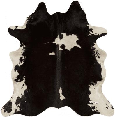 Koeienhuid wit/zwart wit/zwart   Feelings Lowik Meubelen