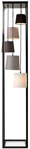 Cuby vloerlamp - 5-lichts
