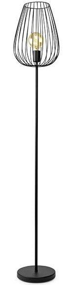 Terrebonne vloerlamp zwart