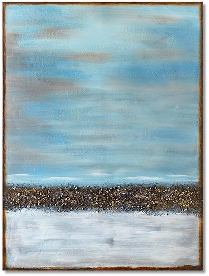 Abstract horizon wanddecoratie    Feelings Lowik Meubelen