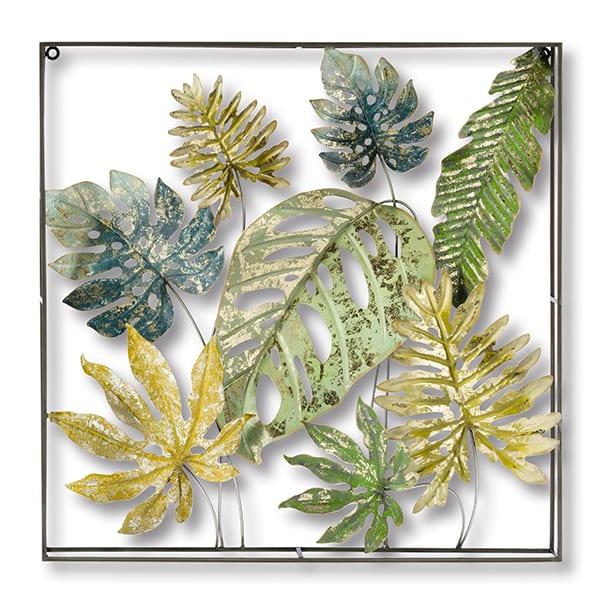 Botanical wanddeco Metaal  wanddecoratie 70x8x70(h) Feelings Lowik Meubelen