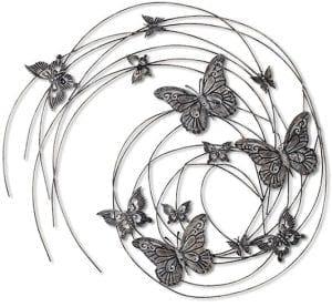 Vlinders wanddecoratie   Vlinders wanddecoratie 83x98 Feelings Lowik Meubelen