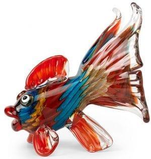 Nemo vis Glas red  Feelings Lowik Meubelen